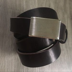 J CREW ▪️ Adjustable Leather Belt